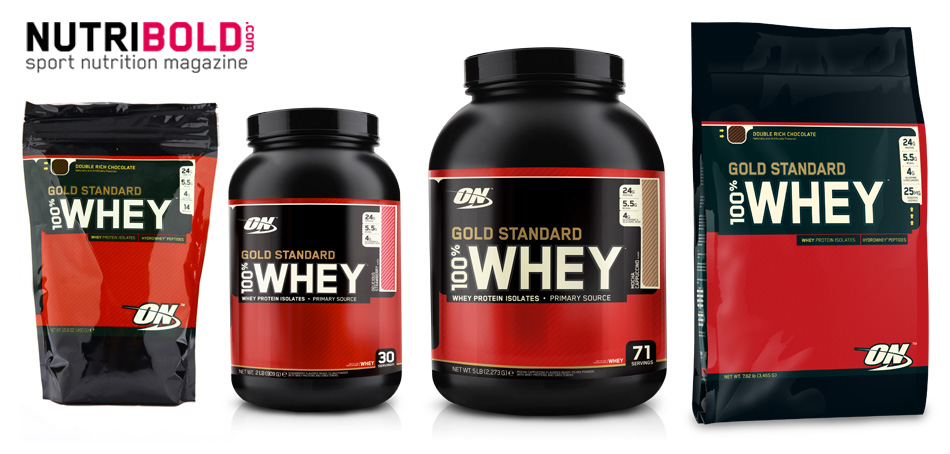 Opiniones de Whey Gold Standard 100% Whey Protein - NutriBold