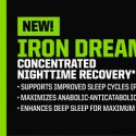 Iron Dream, concentrado de recuperación nocturna