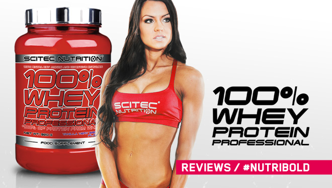 Review 100% Whey Protein Professional de Scitec Nutrition