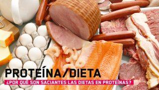 ¿Son saciantes las dietas ricas en proteínas?
