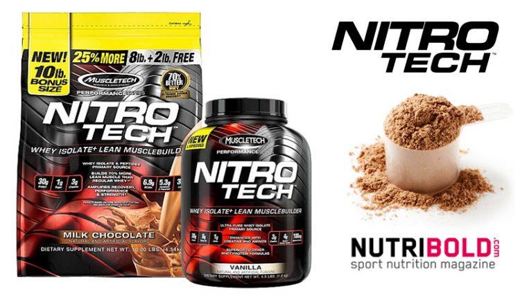 nitro tech contiene esteroides