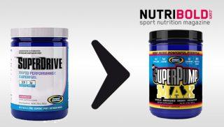 SuperPump MAX será reemplazado por SuperDrive Gaspari Nutrition