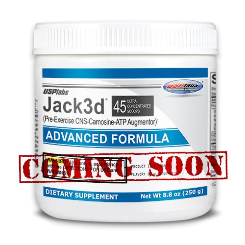 USPlabs Jack3d® Avanced Formula. Coming Soon