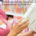 El cálculo de las calorías de alimentos y suplementos pueden contener errores de hasta el 30%