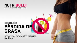 Consejos para perder grasa: reduce las calorías líquidas