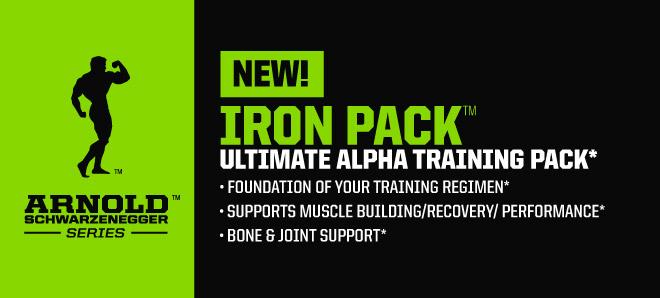 Iron Pack multivitamínico de Arnold Series