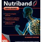 NRG-band de Nutriband, parche energético.