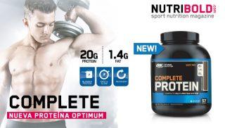 Complete Protein, la nueva proteína de Optimum Nutrition
