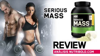 Opiniones de Serious Mass de Optimum Nutrition (Review)