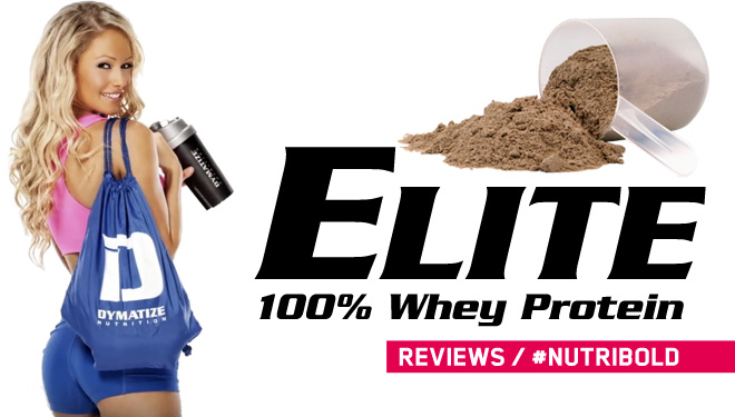 Opiniones de Elite Whey de Dymatize Nutrition (Review)