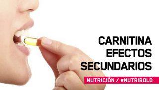 Efectos secundarios de la L-carnitina
