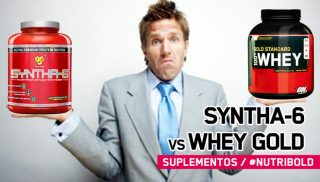 Cara a cara: 100% Whey Gold Standard vs Syntha-6