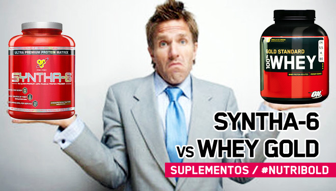 Syntha6 vs 100% Whey Gold Standard