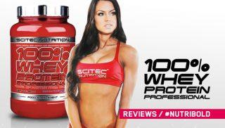 Opinión de 100% Whey Protein Professional de Scitec Nutrition