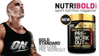 Gold Standard Pre Workout de Optimum