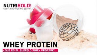 ¿Qué es el suero o Whey Protein?